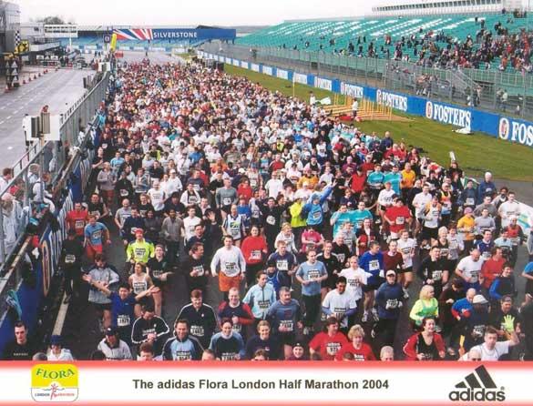 London Silverstone Half Marathon