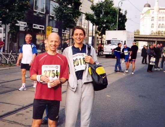 Running in Dresden